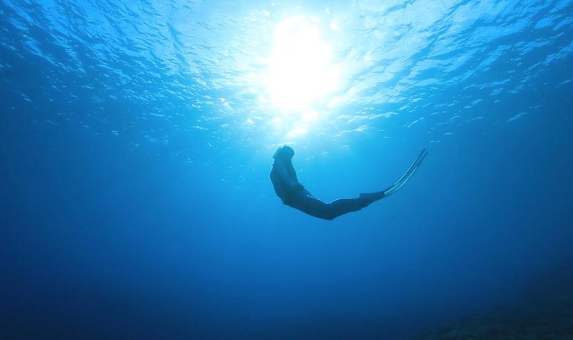 大度海岸(ジョン万ビーチ)でシュノーケリング中、サメに遭遇!(沖縄県糸満市)