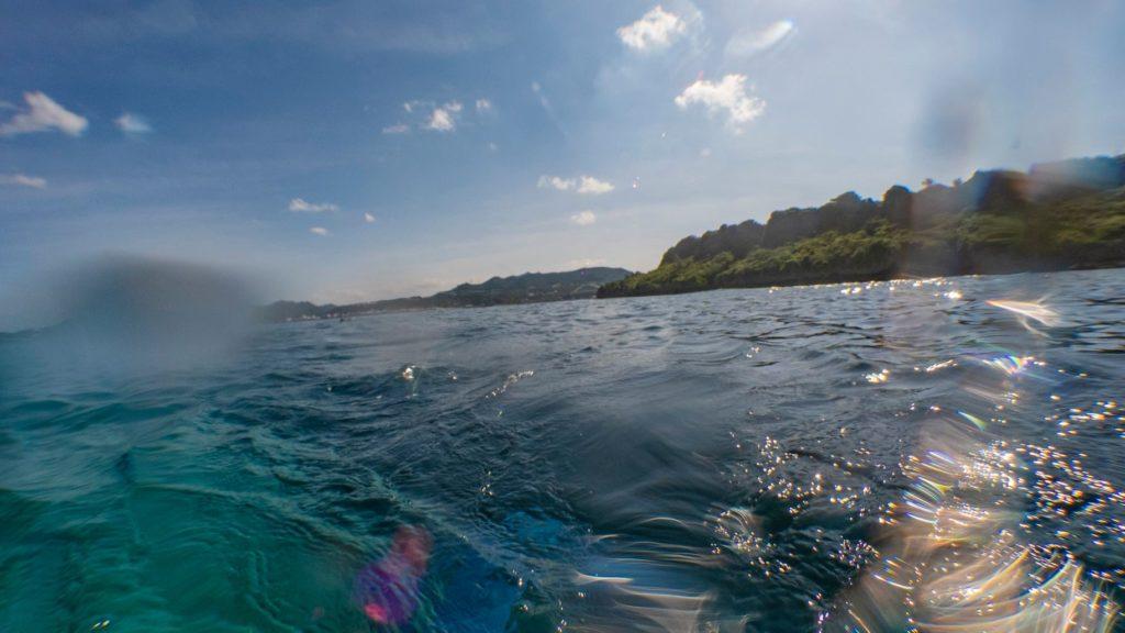 瀬底島北東