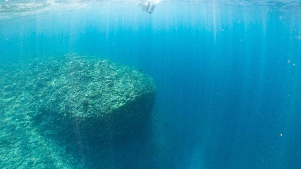 瀬底島西地形