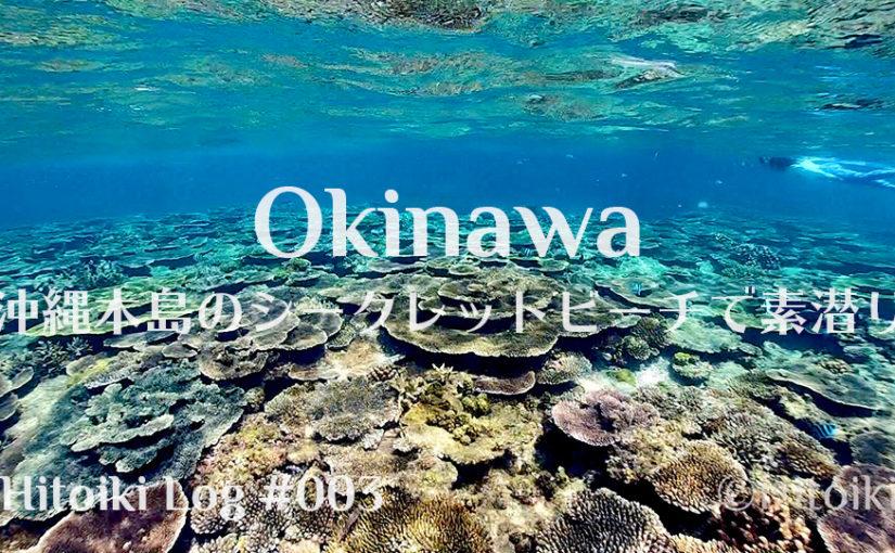沖縄本島のシークレットビーチでサンゴを堪能♪